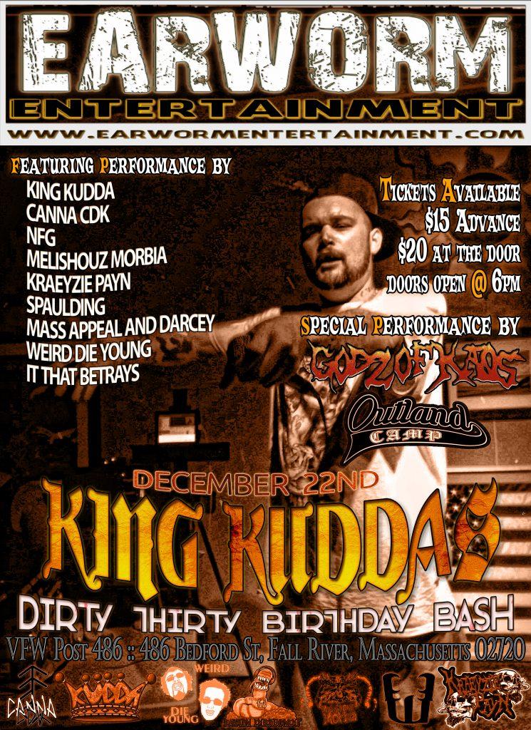 King Kudda Dirty Thirty Birthday Bash