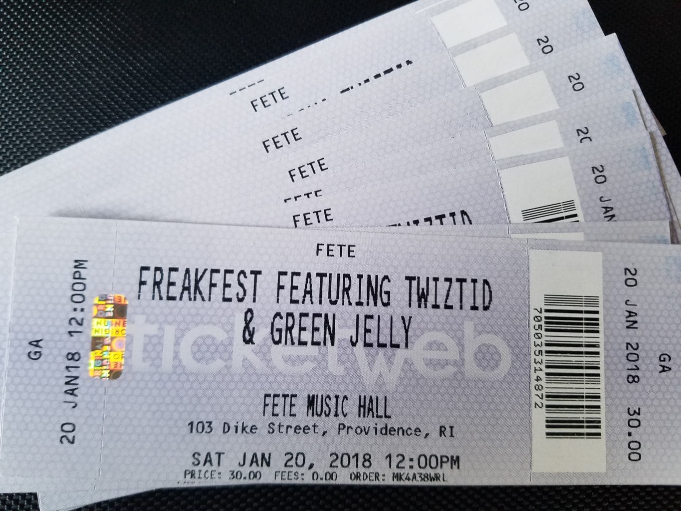 Freak Fest 9 Tickets Now Available