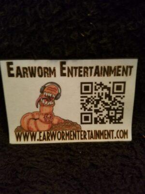 Earworm Entertainment QR Magnet