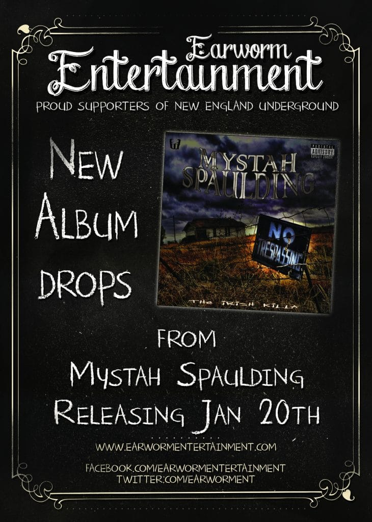 Mystah Spaulding No Trespassing Coming January 20th