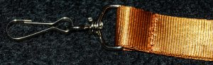 Brown Lanyard Clip