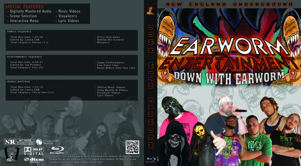 Down With Earworm Bluray