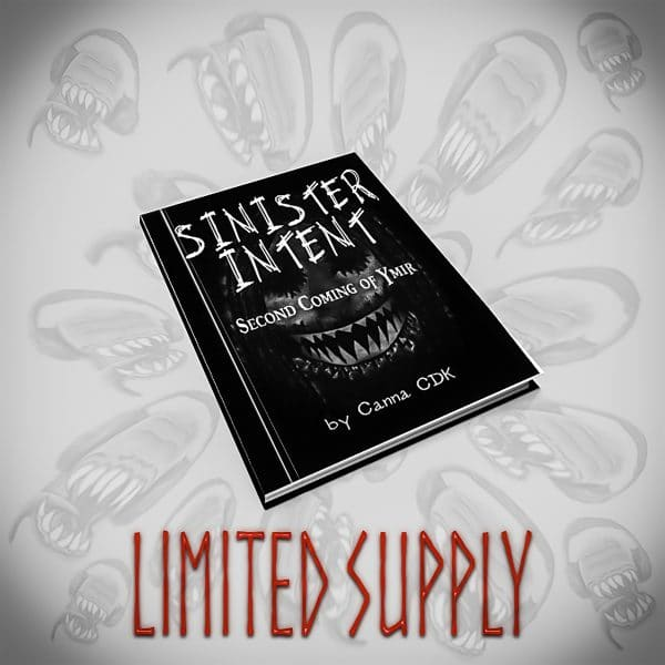 Sinister Intent Book